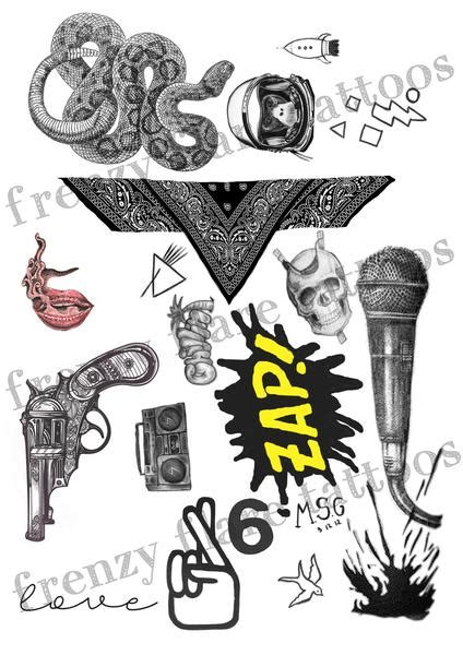 zayn malik henna tattoo zayn malik inspired temporary tattoos 2017 complete set