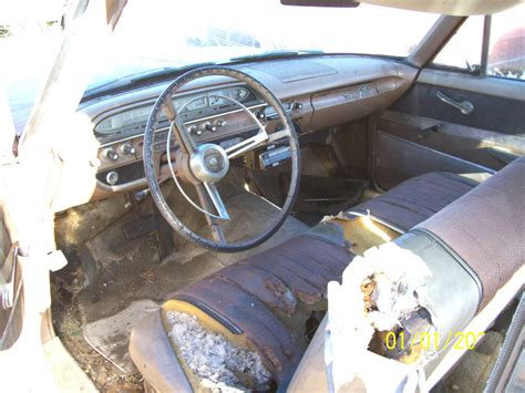 1961 ford galaxie interior 1961 ford galaxie v 8 2 door club sedan for sale