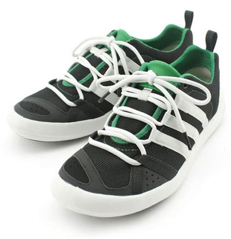 adidas boat cc lace c adidas boat cc lace green navy sneakernews com