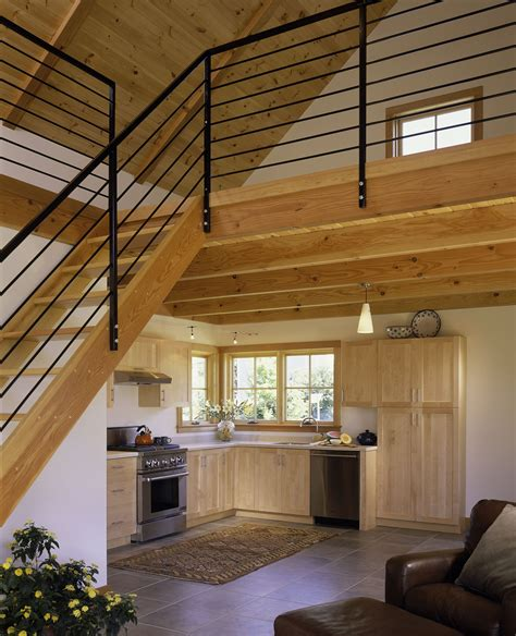 loft houses tiny house with loft white painted interior small