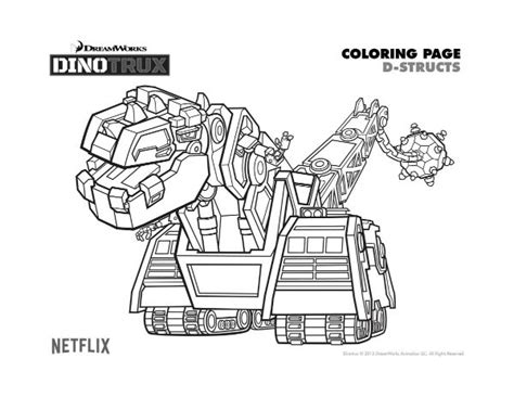 dinotrux coloring page dinotrux skya coloring pages coloring pages