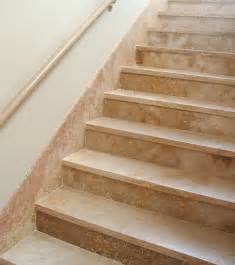 Traditional staircase phoenix by authentic durango stone