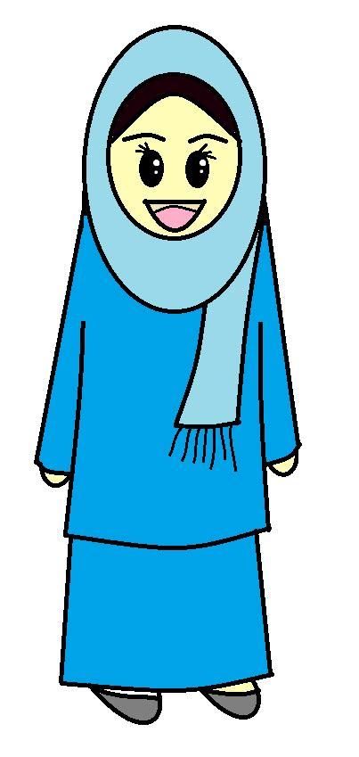 freebies doodle muslimah comel cik purple freebies doodle muslimah yang tak comel