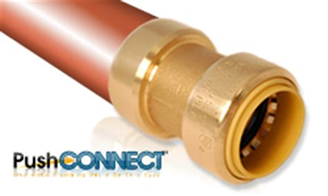 How To Remove Push Fit Plumbing Connector by Copper Cpvc And Pex Plumbing Fittings Push Connect 174