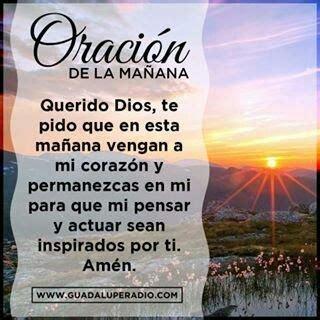 oracion de la manana 120 best images about buen d 237 a on pinterest buen dia