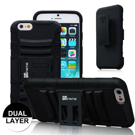 Stand Holster Belt Clip Samsung Note 3 Dual Armor Future Hybird fintie dual layer holster w belt clip stand cover for