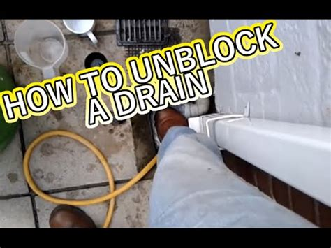 how to take a drain out of a bathtub how to unblock a drain without spending money youtube