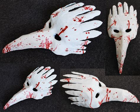 Splicer Mask Papercraft - splicer bird mask by endivinity on deviantart