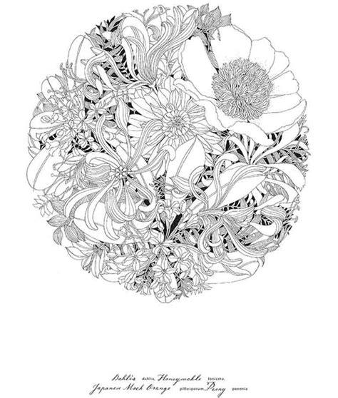 floribunda a flower colouring 1780677766 17 best images about floribunda on last minute gel pens and peonies