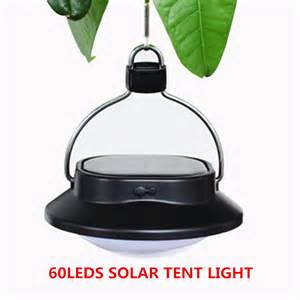 portable outdoor light 60leds solar powered led l waterproof outdoor lighting