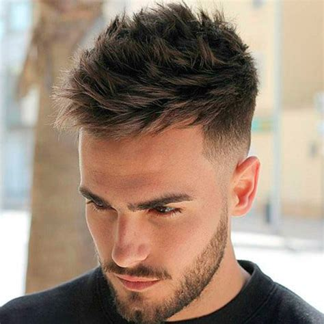 Hairstyles For Guys With Thick Hair by Low Maintenance Haircuts For Guys With Thick Hair