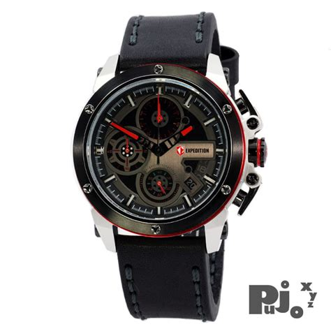 Jam Tangan Expedition Black Sporty jual expedition e6603m black jam tangan