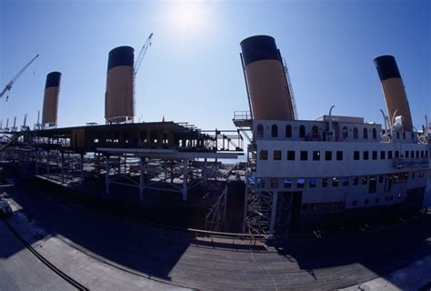 film titanic bateau secrets de cin 233 le tournage de titanic n a pas eu la vie