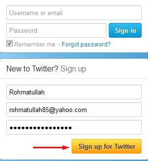 cara membuat imael twitter daftar twitter cara membuat twitter contoh surat untuk
