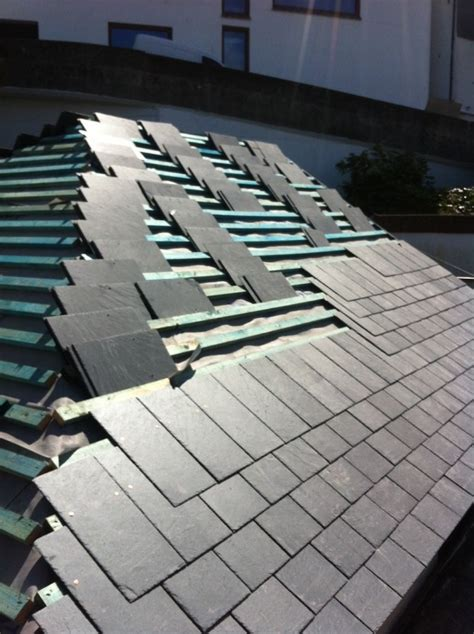 slate roof section st ives case study cornwall roofing summit roofing