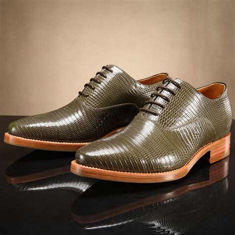 Fashion Shoes Import 5 dmh goodyear import lizard skin handemade shoes handsome fashion dress shoes