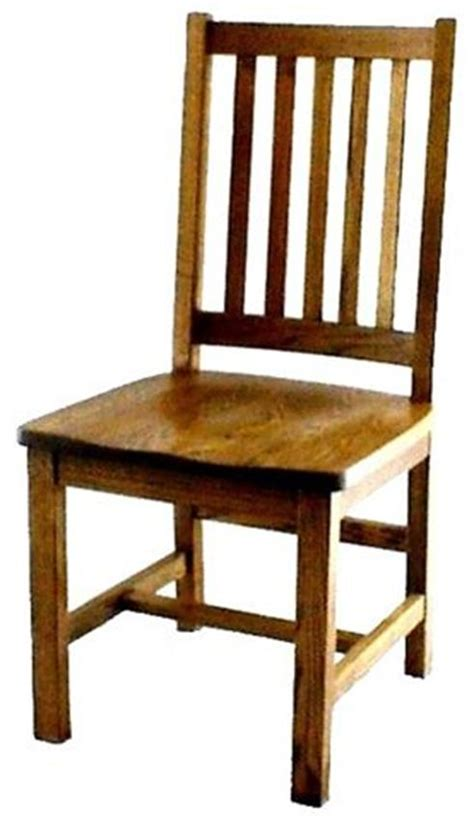 Dining Room Wooden Chairs Amish Mission Schoolhouse Dining Room Chair