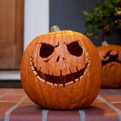 jack skellington pumpkin carving template disney family