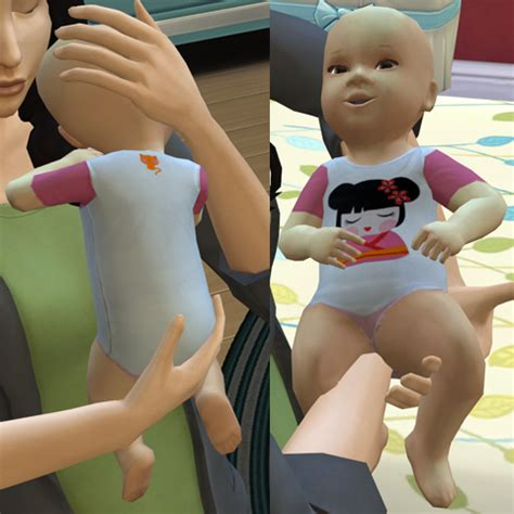 sims 4 baby custom content mod the sims 10 baby outfits