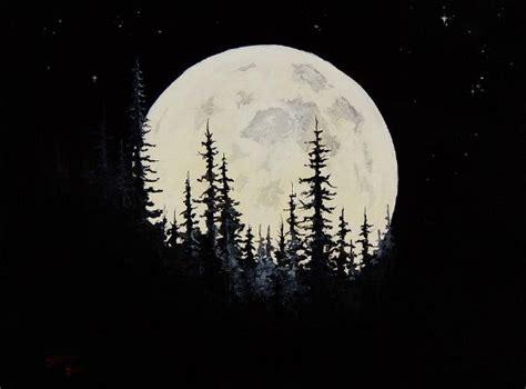 bob ross painting moon bob ross rocky mountain moon paintings bob ross