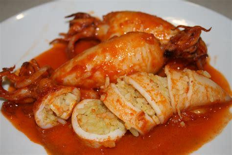 cucinare calamari ripieni calamari ripieni di riso al curry ricetta piatto unico