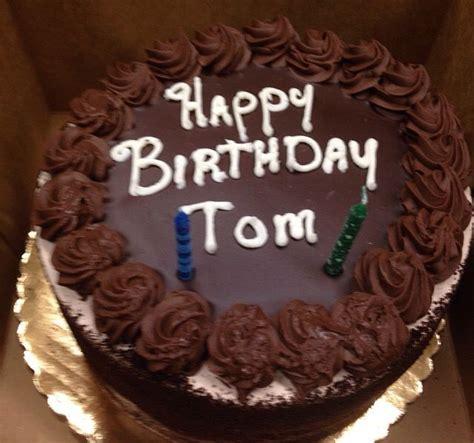 happy birthday tom images happy birthday tom cake www pixshark images