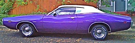 purple charger car 1971 purple dodge charger in bouldin creek neighborhood