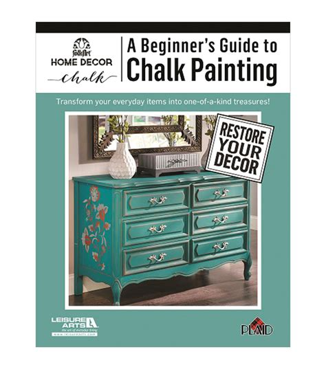 chalk paint joanns a beginner s guide to chalk painting activity book jo