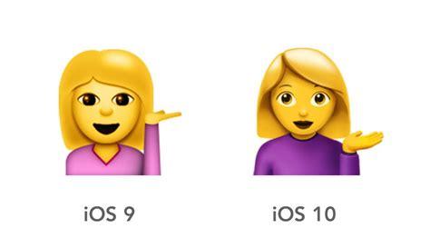 braut emoji ios 10 emoji changelog