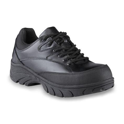 black work shoes roebucks s black composite toe work shoe shoes