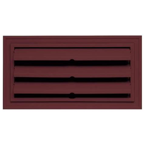 builders edge 9 375 in x 18 in foundation vent with ring