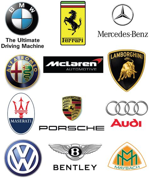 european car logos and names list car logo logos pictures