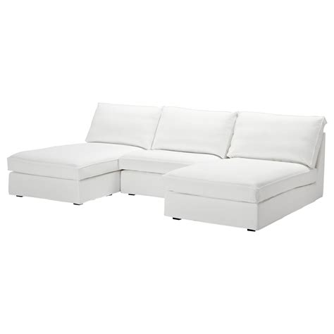 kivik sofa and chaise lounge kivik 2 chaise lounges and armchair blekinge white