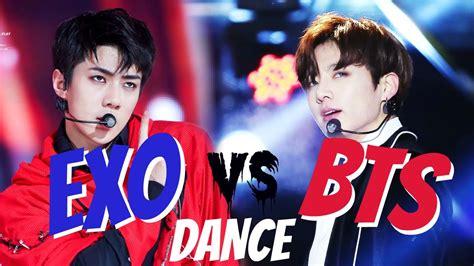 bts vs exo bts vs exo part 2 dance k mv