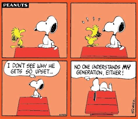 7 Letter Word For Upset Or Angry Woodstock Gets Angry With Snoopy Today S Comic