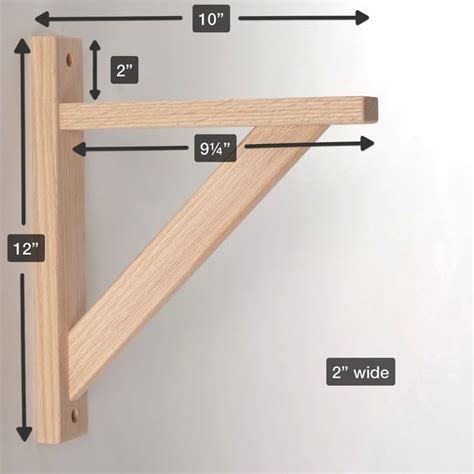 10 wood shelf bracket pinteres