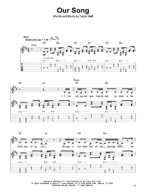 taylor swift delicate lyrics and chords our song sheet music direct