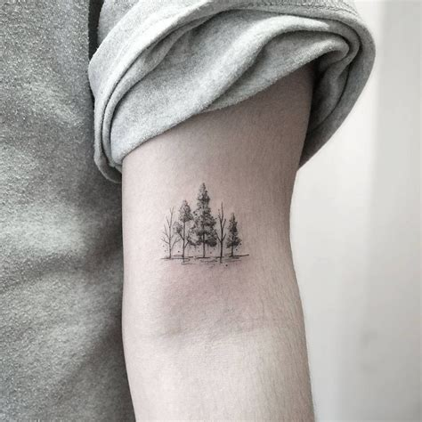 small line tattoos the 25 best tree tattoos ideas on wrist tree