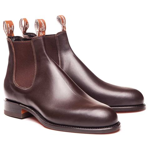 comfort turnout rm williams turnout boots comfort rubber sole