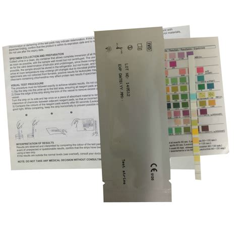 urine test 2 x urinalysis test 10 parameters home health uk