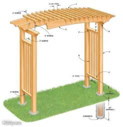 Garden Arbor Plans by 89 Best Images About Arbor Plans On Pinterest Gardens
