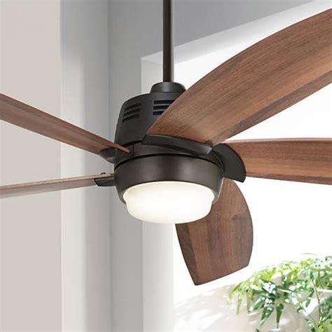 casa ceiling fan 56 quot casa ecanto rubbed bronze led ceiling fan 4f229