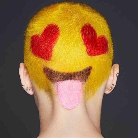 hairstyles emoji hair inspiration hope your day is as awesome as this