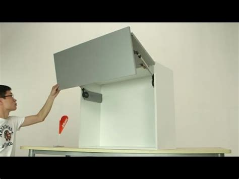 Lift Hinges For Kitchen Cabinets bi fold door wall cabinet youtube
