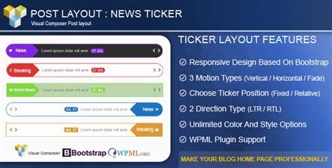 wordpress news layout plugin 15 best premium news ticker wordpress plugins tutorial zone