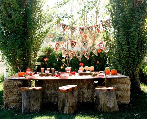 rustic backyard party ideas rustic outdoor party b s birthday pinterest