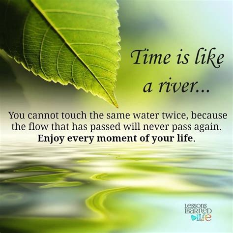 Like A River time is like a river pictures photos and images for
