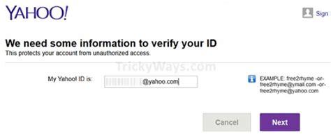 email yahoo valid c 243 mo recuperar una cuenta de correo electr 243 nico yahoo