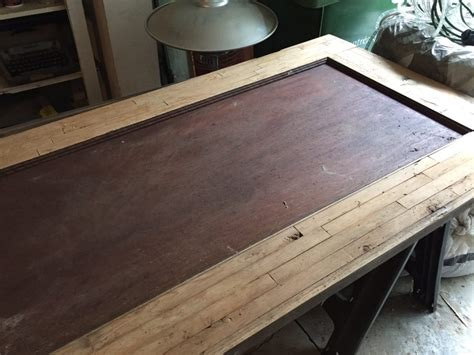 used butcher block table craigslist hairpin leg butcher block coffee table diy montreal