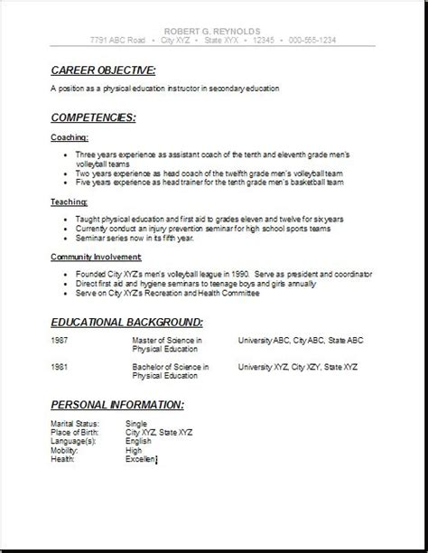formidable high school student objective resume on resume samples